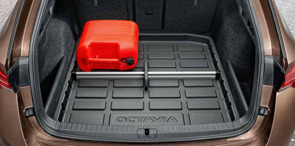 Багажник Шкода Октавия А8: размеры, объем