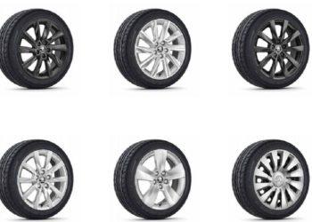 диски и шины шкода рапид: параметры и размер колес