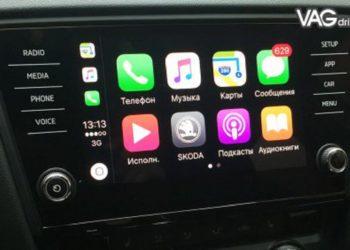 мультимедиасистемы для Skoda Octavia A7